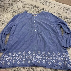Loft Plus Size 22 blouse top